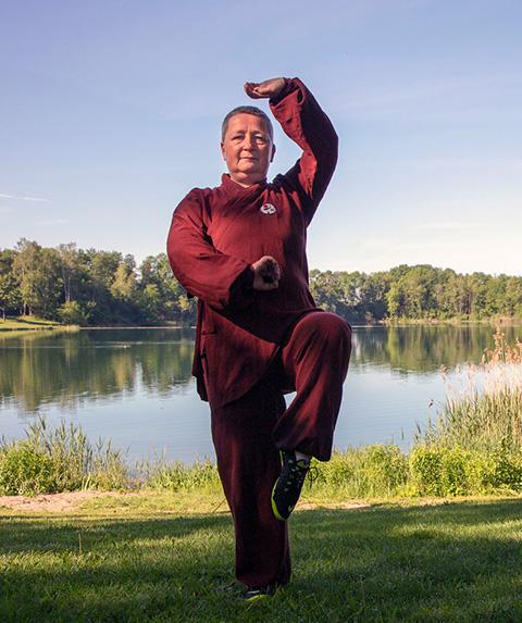 Denise Fürst, Heilpraktikerin –Qigong Shaolin –Denise Fürst, Foto Qigong